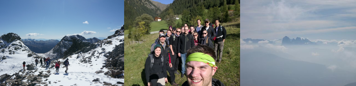 Summit Hiking (c) Institute for Semiconductor Technology (IHT), University of Stuttgart