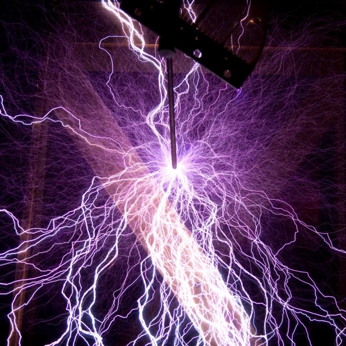 Künstlich erzeugte Blitze