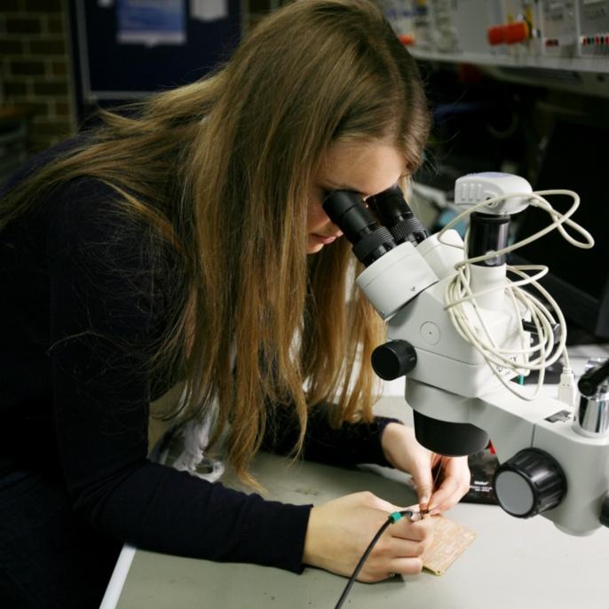 Studentisch verwaltetes Labor