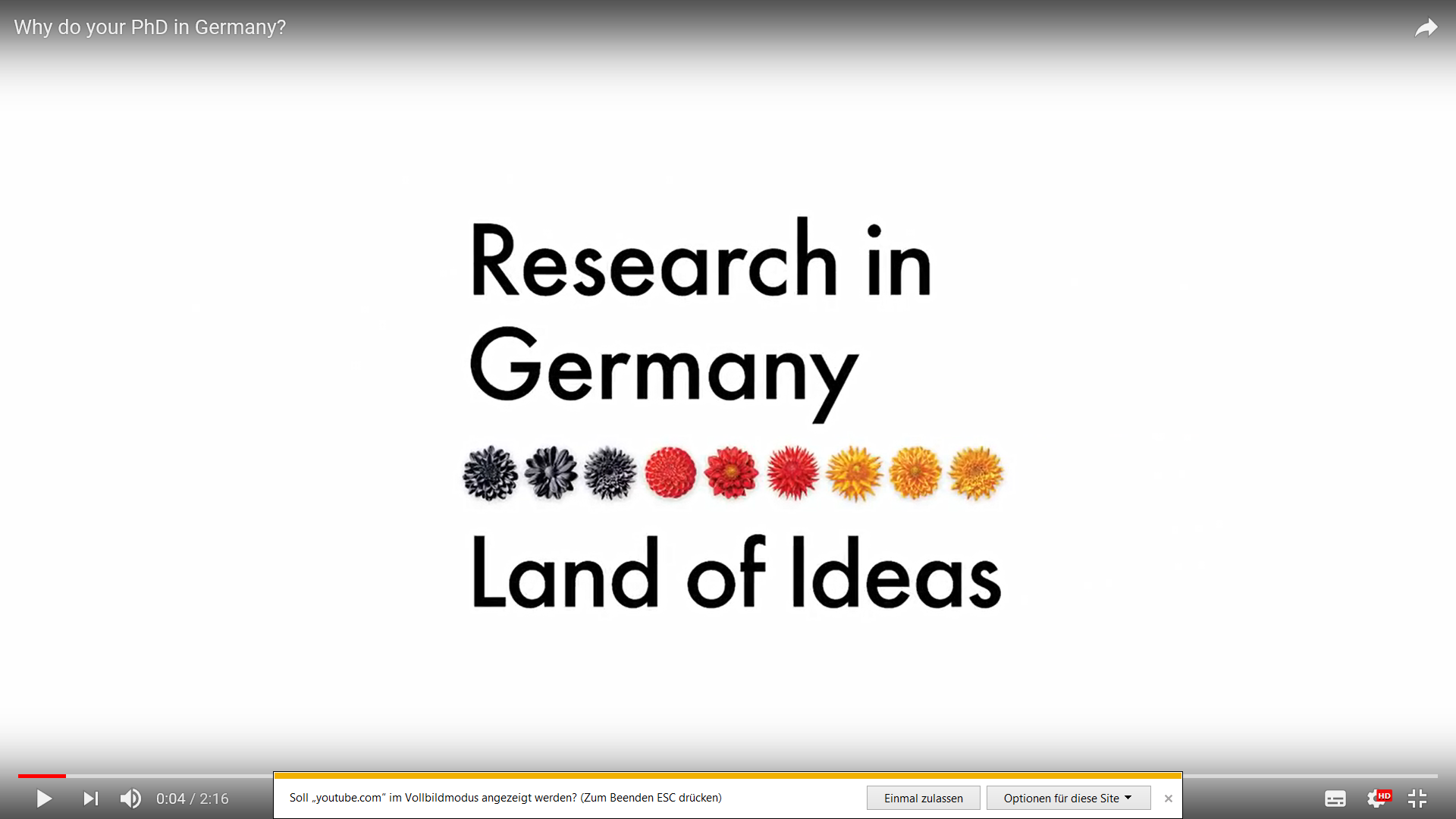 Why do your PhD in Germany? | Video | Faculty 5: Computer