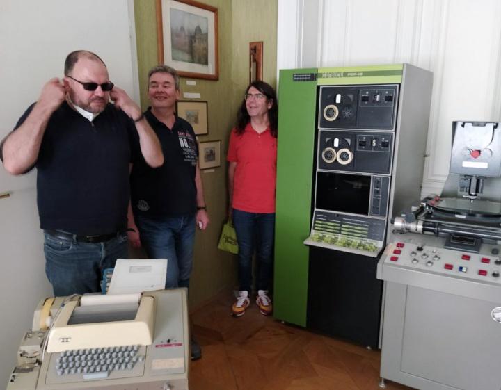 Der PDP 12 an der Universität Wien
